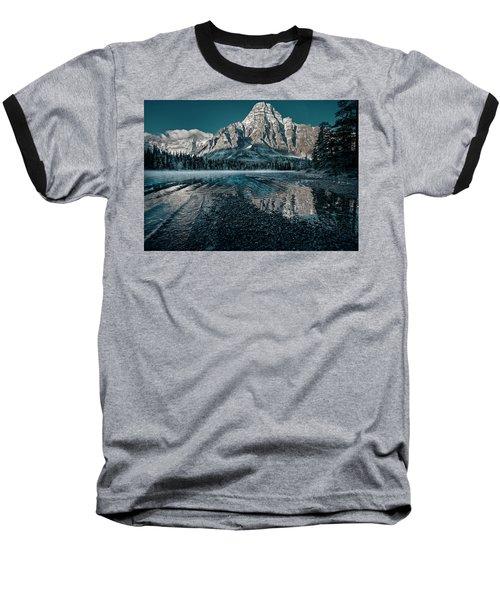Mount Chephren Reflected Baseball T-Shirt