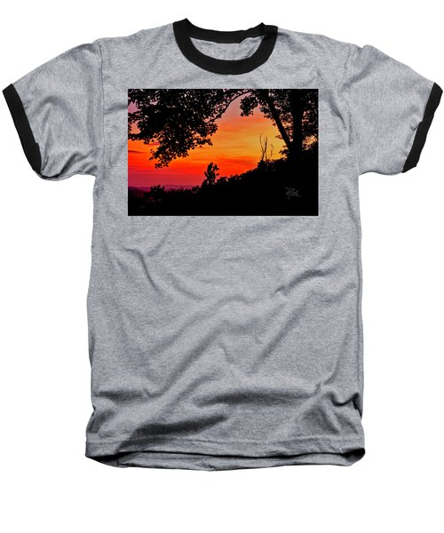 Mountain Sunrise Baseball T-Shirt