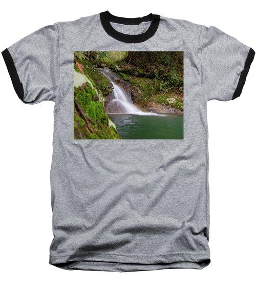 Mountain Waterfall II Baseball T-Shirt