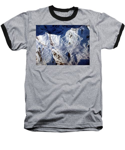 Mountaintop Snow Baseball T-Shirt