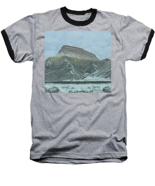 Multi-level Mountains Baseball T-Shirt