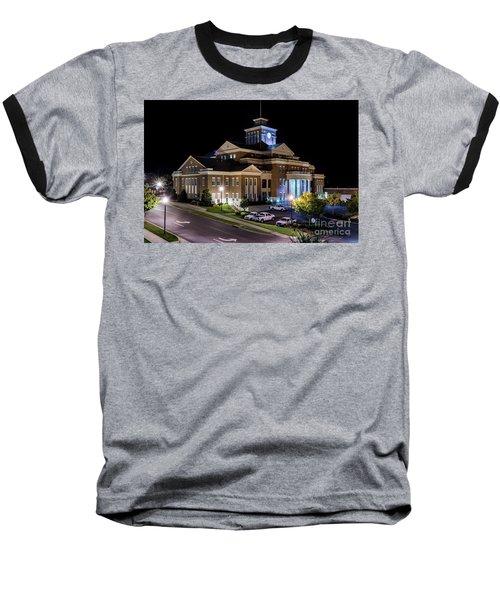 Municipal Center At Night - North Augusta Sc Baseball T-Shirt