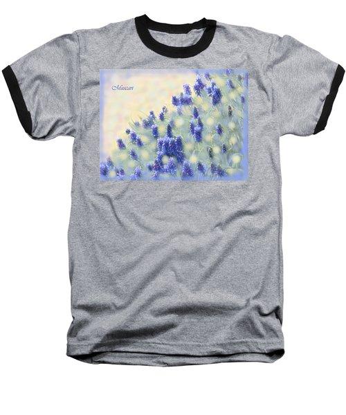 Muscari Morning Baseball T-Shirt