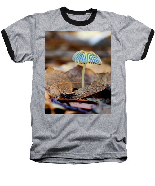 Mushroom Under The Oak Tree Baseball T-Shirt