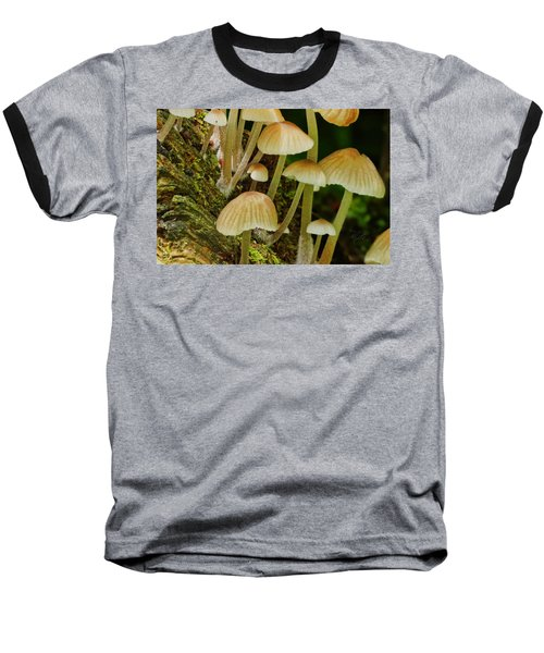 Mushrooms Baseball T-Shirt