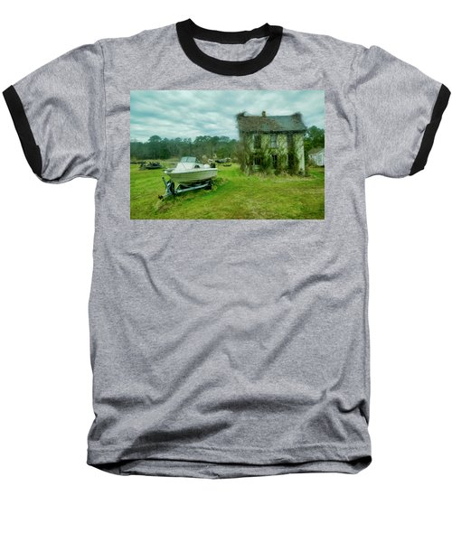 Auntie's Old House Baseball T-Shirt