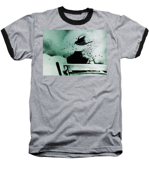 My World  Baseball T-Shirt