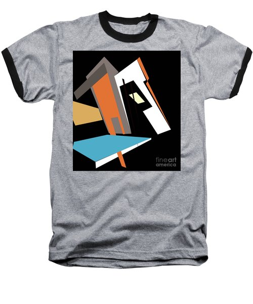 My World In Abstraction Baseball T-Shirt