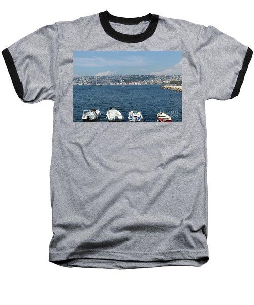 Naples Port Baseball T-Shirt