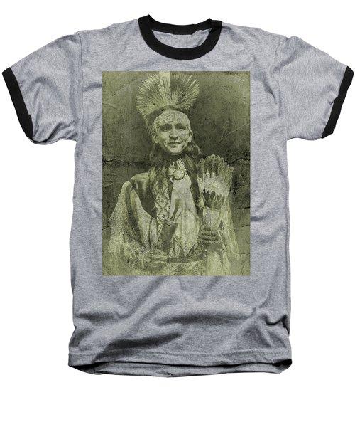 Native American Dancer Baseball T-Shirt