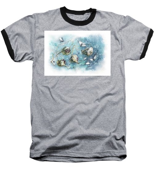 Nature's Fantasy Abstract Baseball T-Shirt