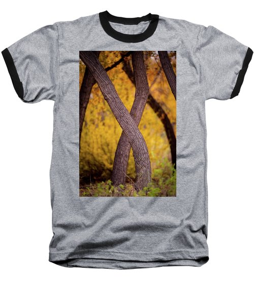 Nature's Font Baseball T-Shirt