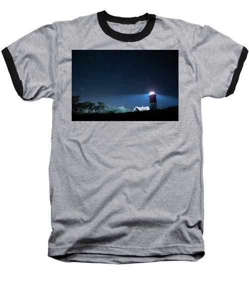 Nauset Light Under The Stars Baseball T-Shirt
