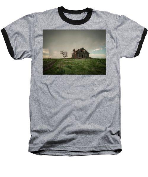 Nebraska Farm House Baseball T-Shirt