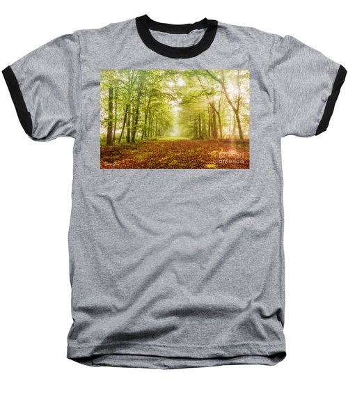 Neither Summer Nor Winter But Autumn Light Baseball T-Shirt