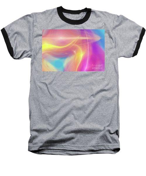 Neon Light  Cosmic Rays Baseball T-Shirt