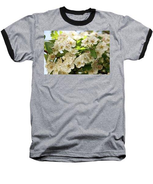Neston.  Hawthorn Blossom. Baseball T-Shirt