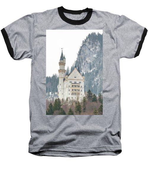 Neuschwanstein Baseball T-Shirt