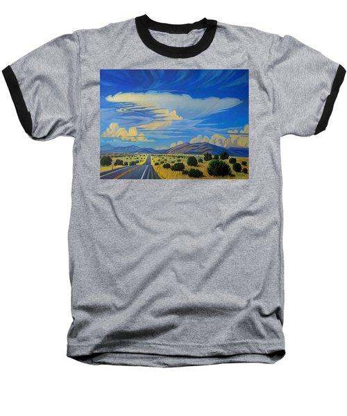 New Mexico Cloud Patterns Baseball T-Shirt