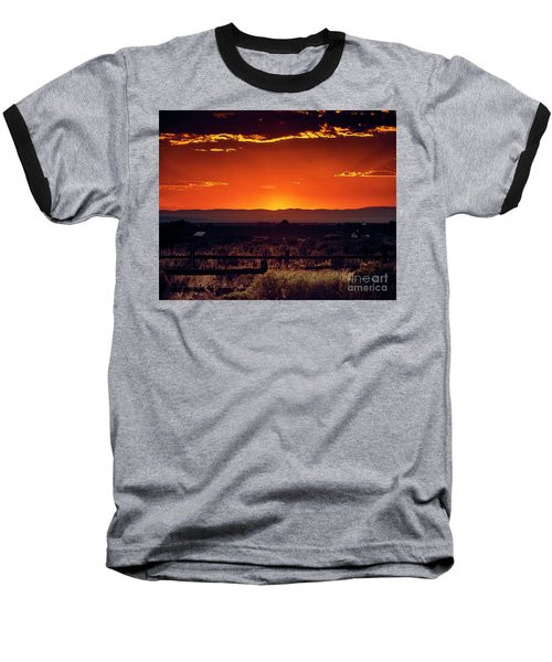 New Mexico Sunset Baseball T-Shirt