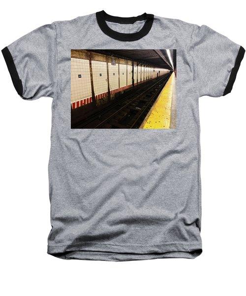 New York City Subway Line Baseball T-Shirt