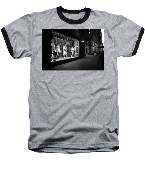 Baseball T-Shirt featuring the photograph New York, New York 12 by Ron Cline