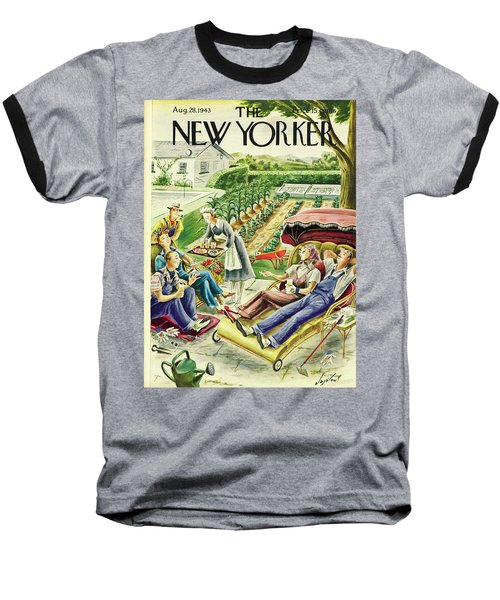 New Yorker August 28th 1943 Baseball T-Shirt