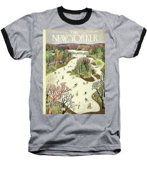 New Yorker January 16th 1943 Baseball T-Shirt