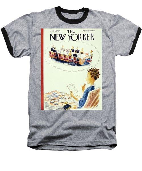 New Yorker January 4th 1947 Baseball T-Shirt