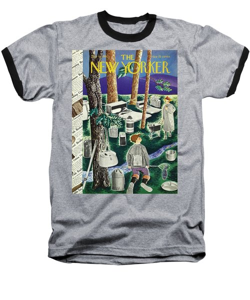 New Yorker July 11th 1942 Baseball T-Shirt