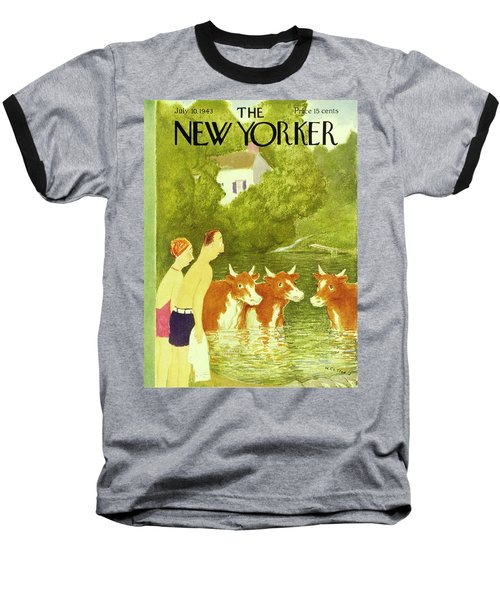 New Yorker July 10th 1943 Baseball T-Shirt