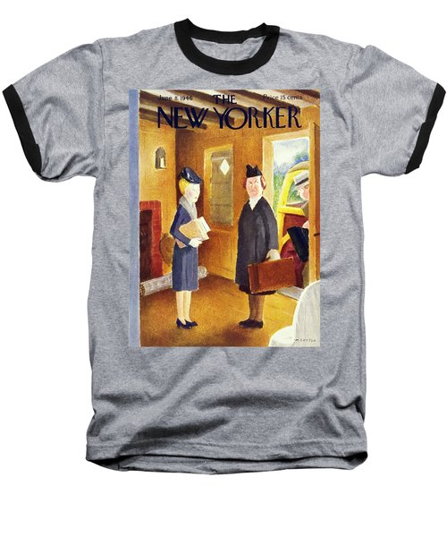 New Yorker June 8 1946 Baseball T-Shirt