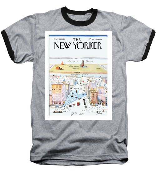 New Yorker March 29, 1976 Baseball T-Shirt