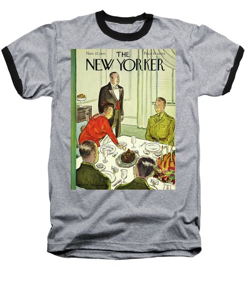 New Yorker November 27th 1943 Baseball T-Shirt