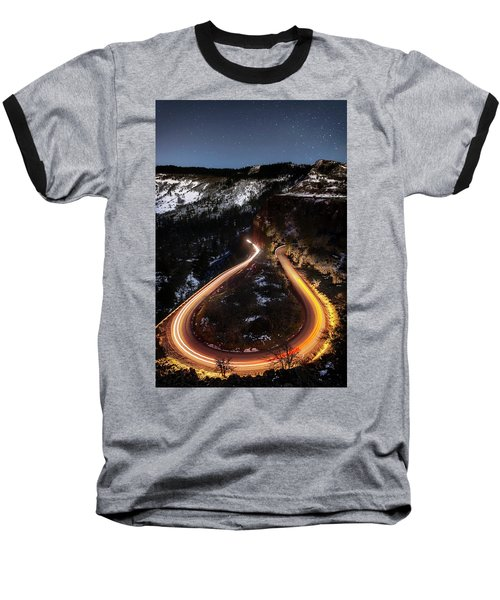 Night At Rowena Crest Baseball T-Shirt