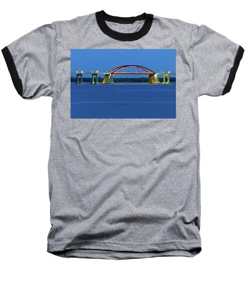 Night Bridge Baseball T-Shirt