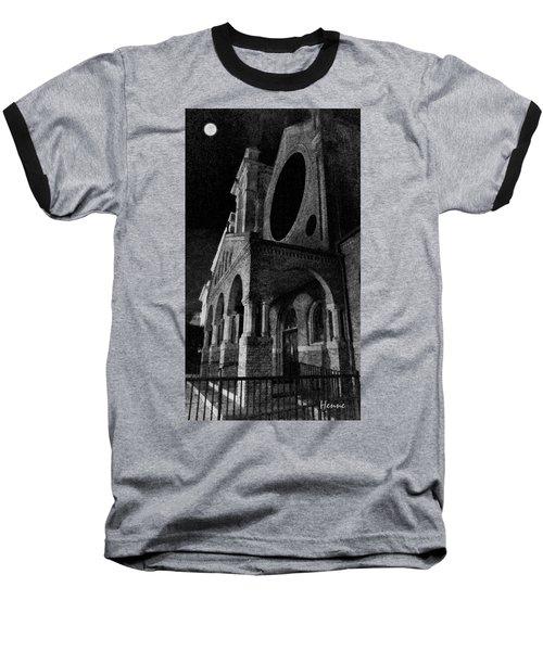 Night Church Baseball T-Shirt