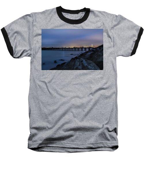 Night Pier- Baseball T-Shirt