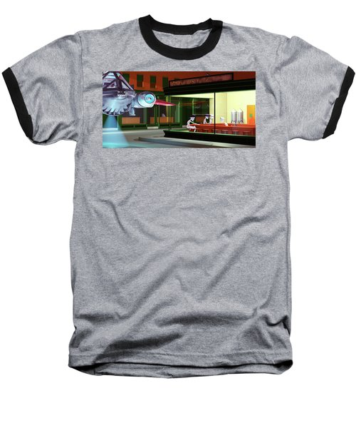 Nighthawks Invasion Baseball T-Shirt