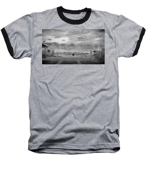 No Vehicles Baseball T-Shirt
