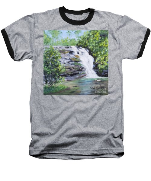 North Carolina Waterfall Baseball T-Shirt
