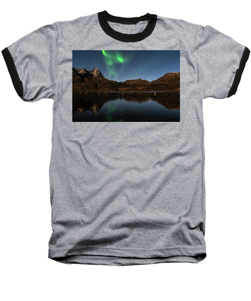 Northern Lights Baseball T-Shirt