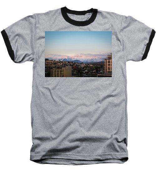Northshore Winterscape Baseball T-Shirt
