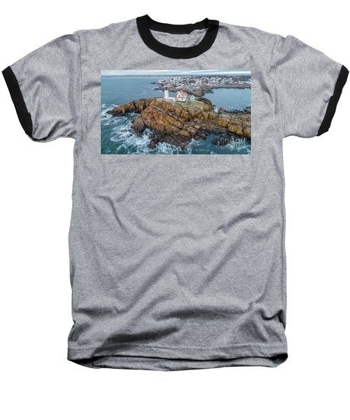 Nubble Light Winter Baseball T-Shirt