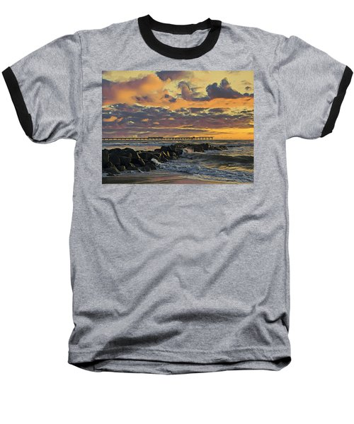 Ob Sunset No. 3 Baseball T-Shirt