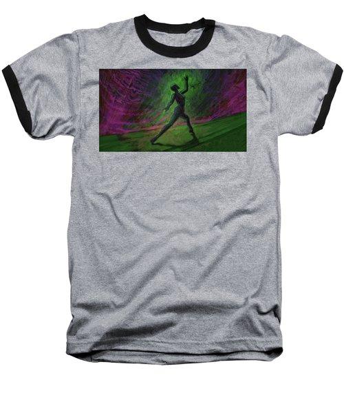 Obscured Dance Baseball T-Shirt