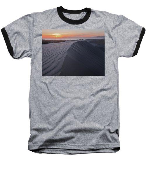 Oceano Dunes Sunset Baseball T-Shirt