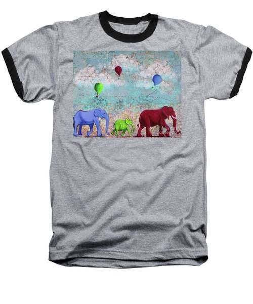Oh The Places You'll Go Baseball T-Shirt