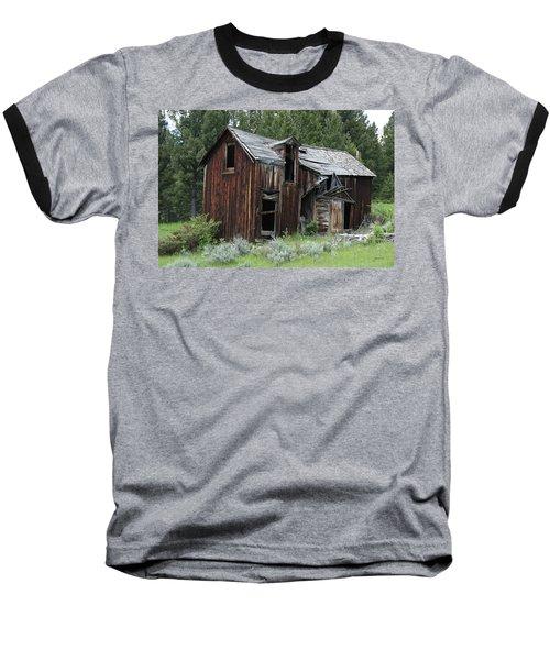 Old Cabin - Elkhorn, Mt Baseball T-Shirt
