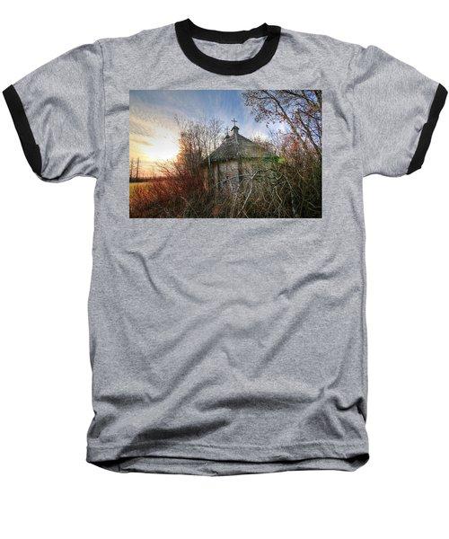 Old Calder Church Baseball T-Shirt